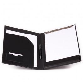 Auftragsblockmappe aus Rindleder / Leder-Schreibmappe Art. 4321
