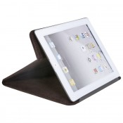 Ledermappe  für Tablet PC  Hülle dunkelbraun 6057-3