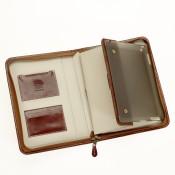 Ledermappe für iPad/Tablet PC 6061-5