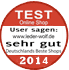 Testsiegel 2014