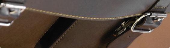 Schultaschen aus Vollrindleder