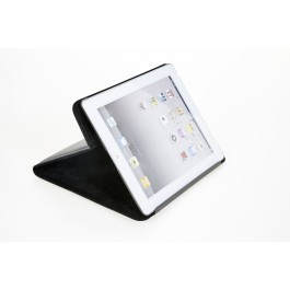 Ledermappe für Tablet PC  Hülle schwarz 6057-1