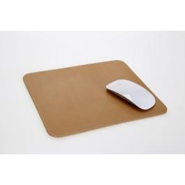 Mousepad aus Vollrindleder BIO Naturleder  4232-6