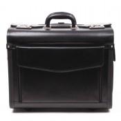 Leder-ROLLING-PILOT / Koffer mit Rollen aus Leder 151340