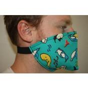 NEU! Mund- und Nasenmaske für Hörgeräteträger oder Friseurbesuche Pinguin 4416