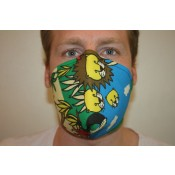 NEU! Mund- und Nasenmaske für Hörgeräteträger oder Friseurbesuche Safari 4417