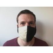 Mund- und Nasenmaske zweilagig 4412