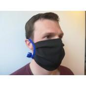 Mund- und Nasenmaske zweilagig 4409