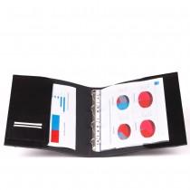 Leder-Ringbuch / Präsentationsmappe aus Rindleder 4320