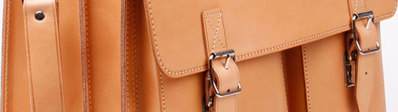 Leder-Schultaschen